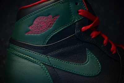 Nike Air Retro Jordan 1 I Gucci Upclose