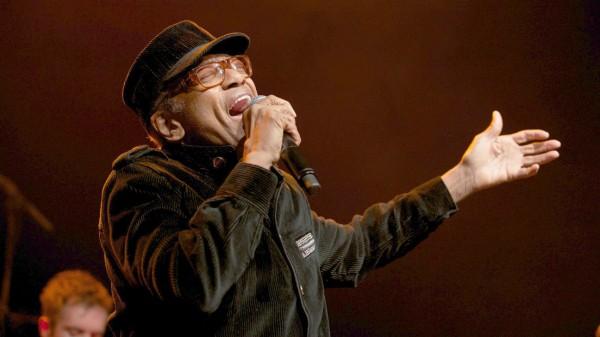 Bobby Womack and Damon Albarn perform at the HMV Forum, London,