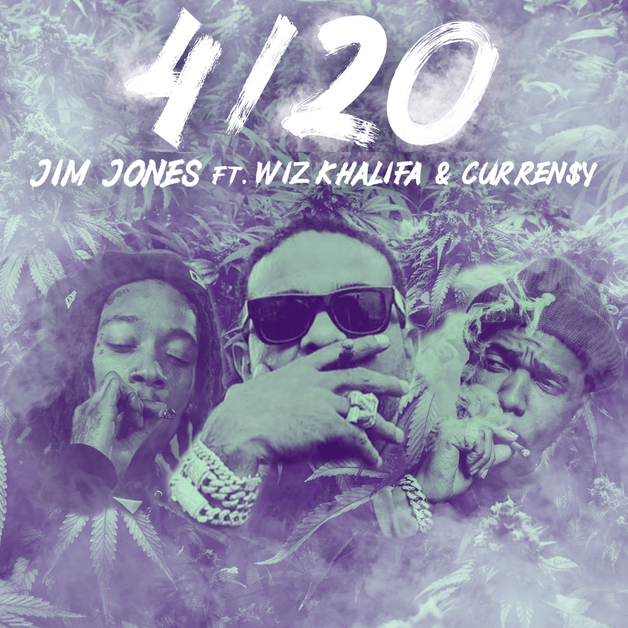 Jim Jones - 4/20 (feat. Wiz Khalifa & Curren$y)