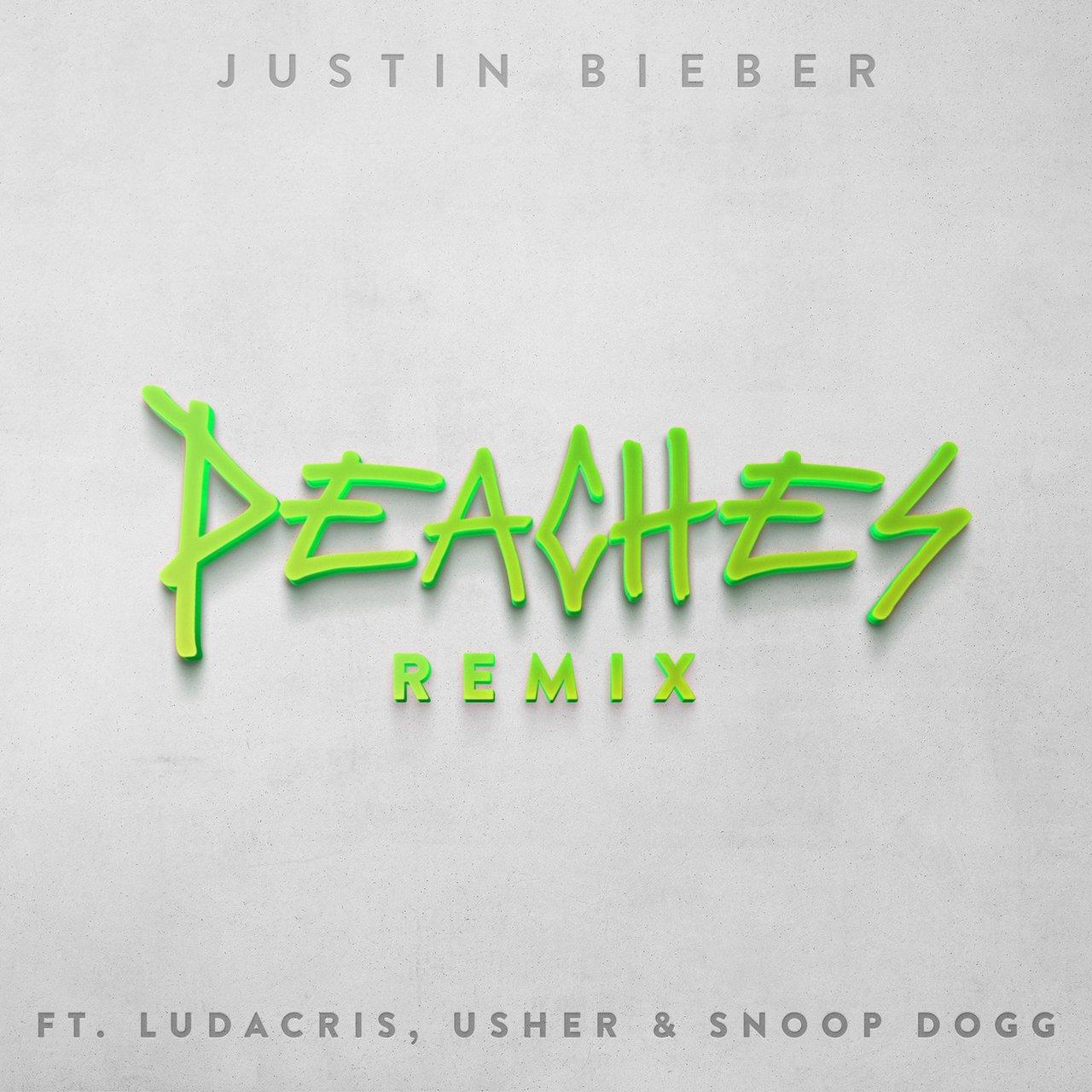 Justin Bieber, Ludacris, Usher Snoop Dogg 'Peaches Remix' Song