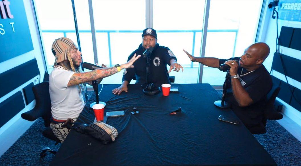 6ix9ine vs. Wack 100 Interview Preview Video