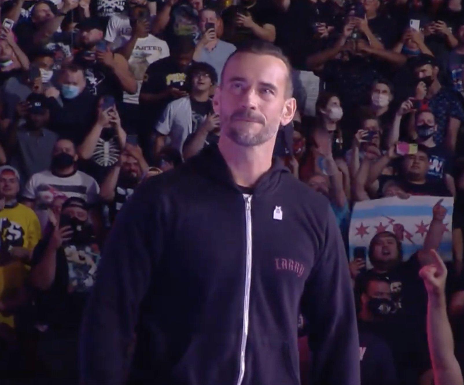 CM Punk AEW Debut Video