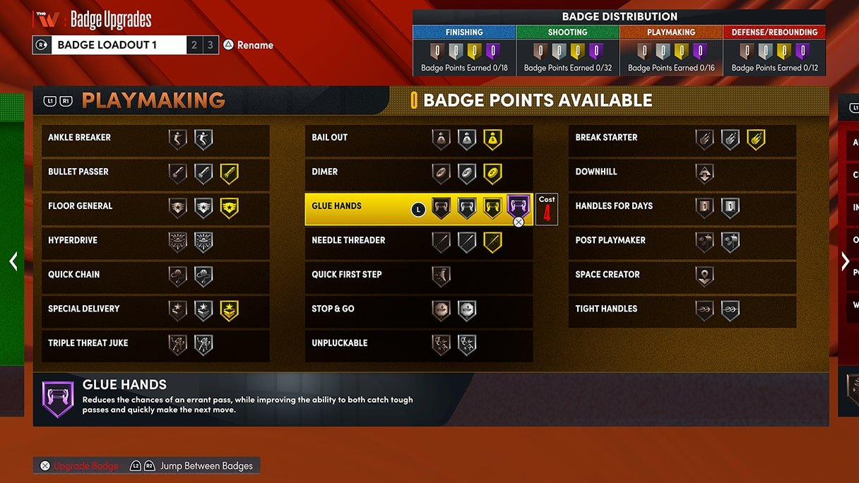 NBA 2K22 New Badges Teased Preview