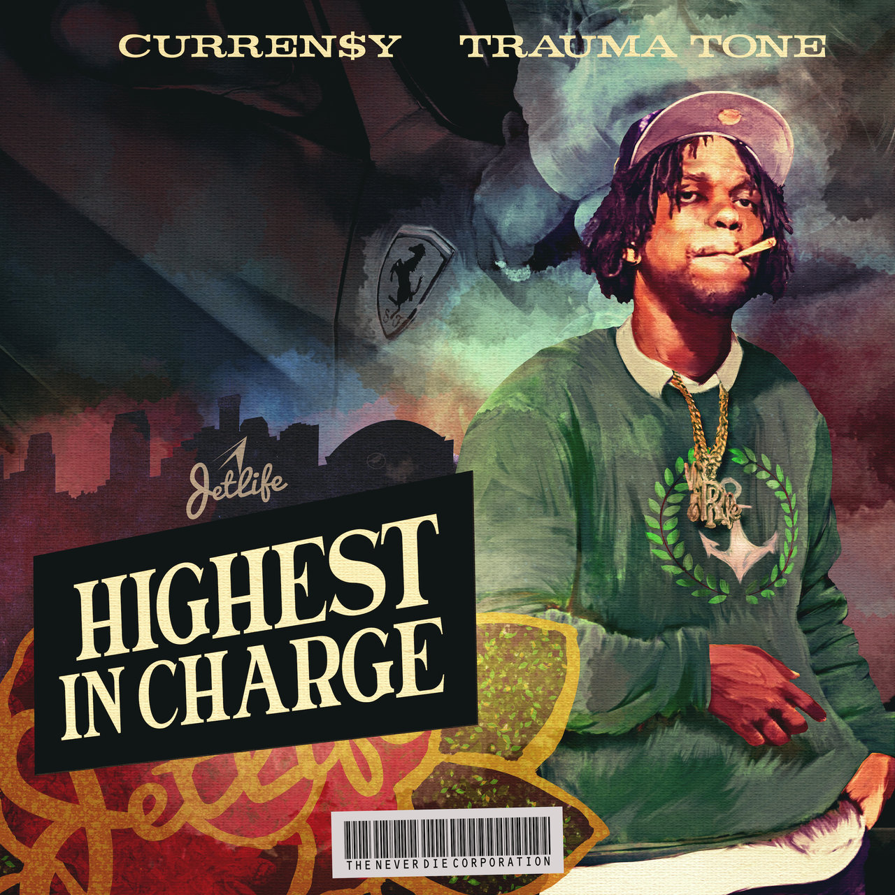 Currensy 'Highest in Charge' Album