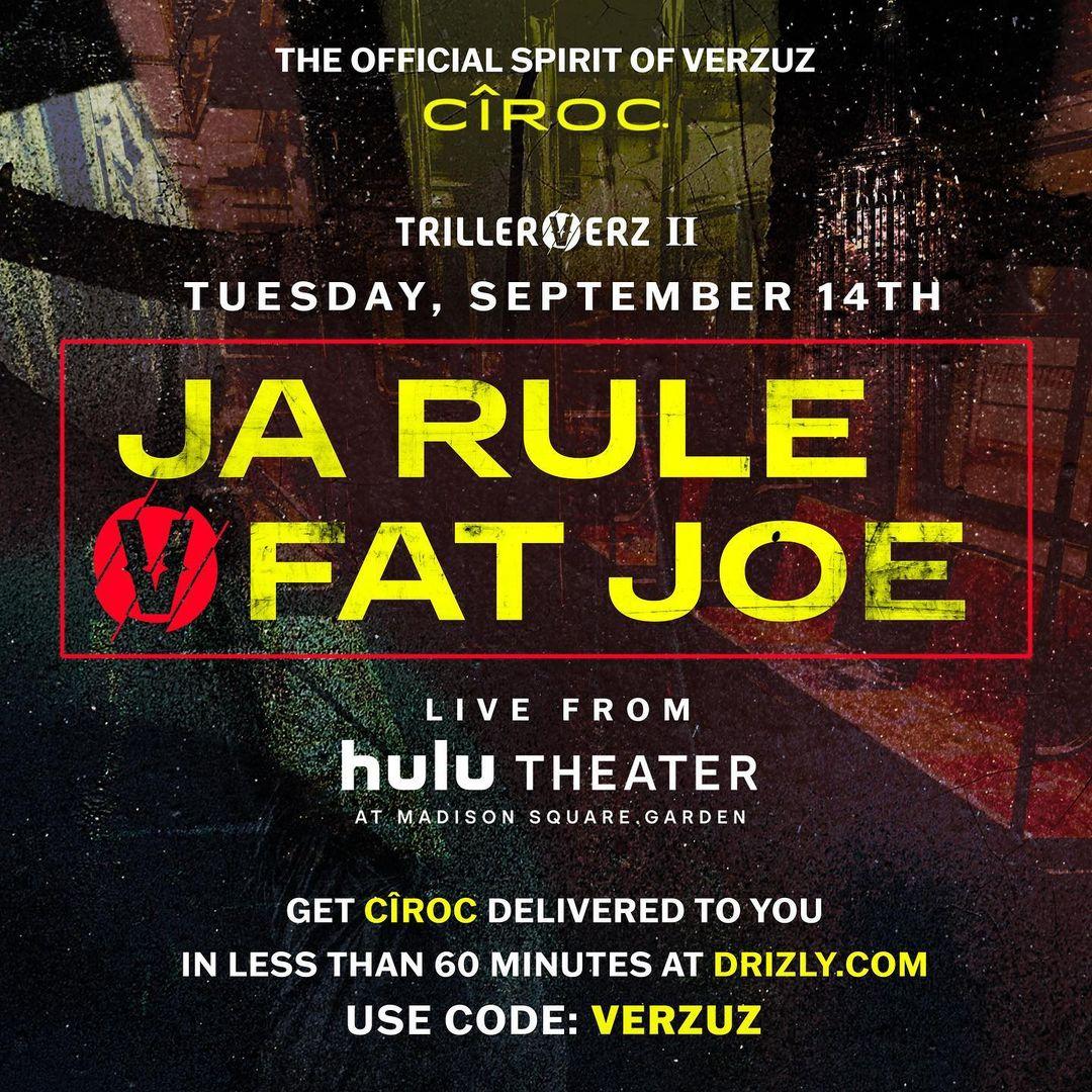 Fat Joe vs. Ja Rule VERZUZ Battle Full Video