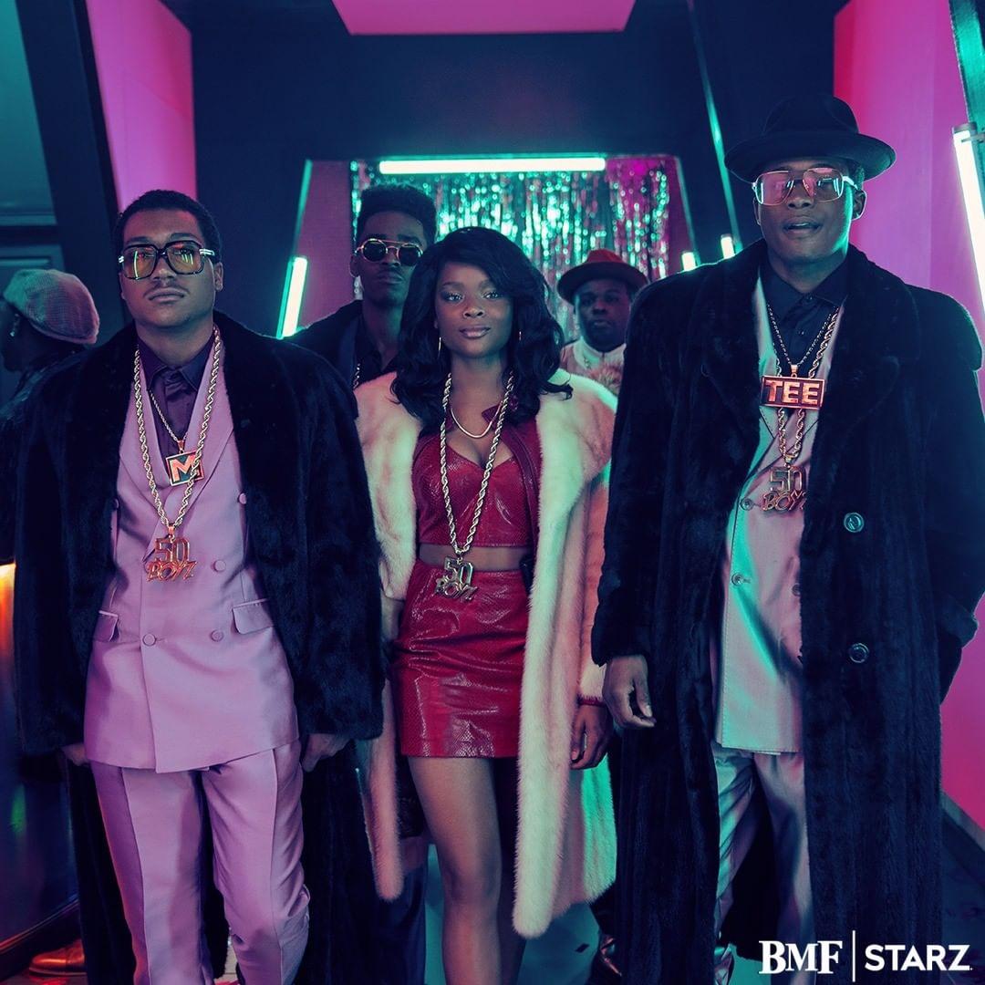 "Starz ""Black Mafia Family"" Series Premiere"